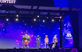 TwitchCon cosplay contest finalists.