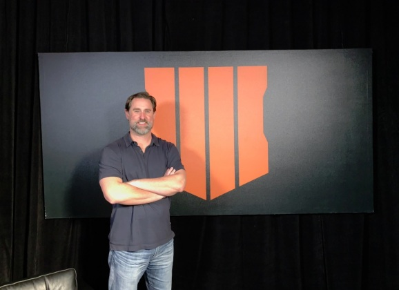 Dan Bunting, co-head of Treyarch, talks about Call of Duty: Black Ops 4.