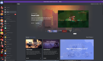 Discord Store plans to best Epic with 90/10 revenue split