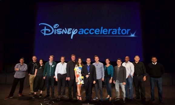 The Disney accelerator mentors.