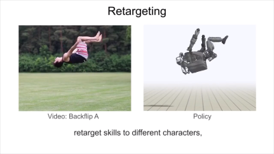Researchers train AI to mimic 20 acrobatic moves from
