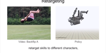 Researchers train AI to mimic 20 acrobatic moves from YouTube videos