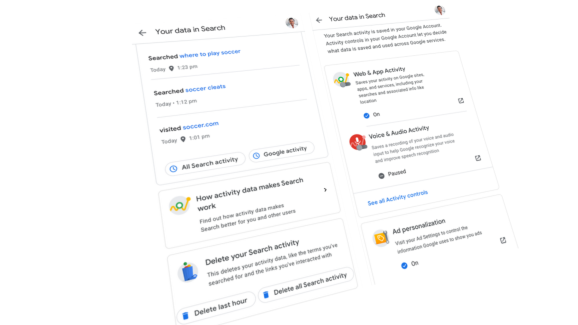New privacy feature in Google Search