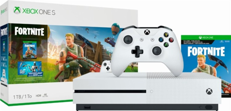 Fortnite continues to drive spending on Xbox One.