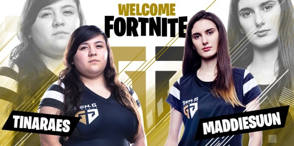 Tina Perez and Madison Mann have signed with Gen.G's Fortnite team.