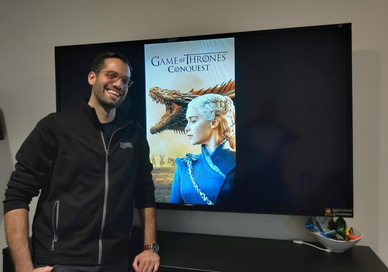 David Bisceglia of WB Games Boston has worked on Game of Thrones: Conquest.