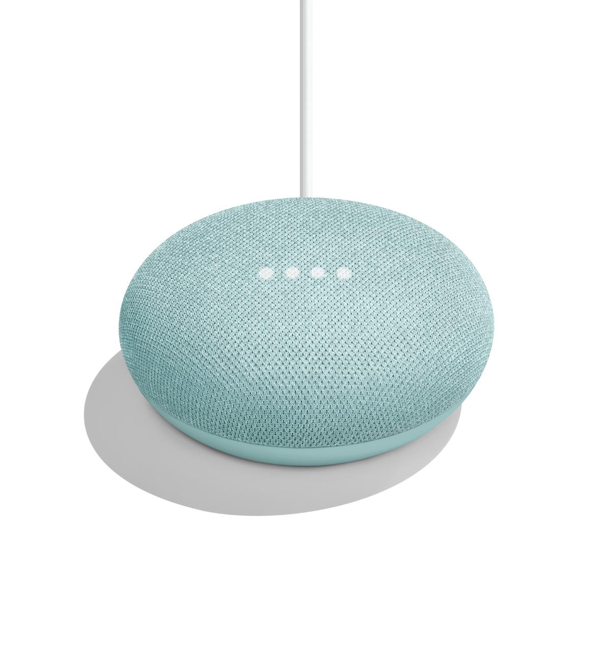 Google Home Mini Now Available in Aqua