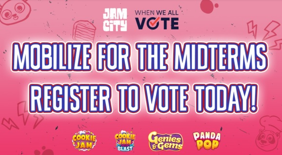 Jam City wants mobile gamers to vote.