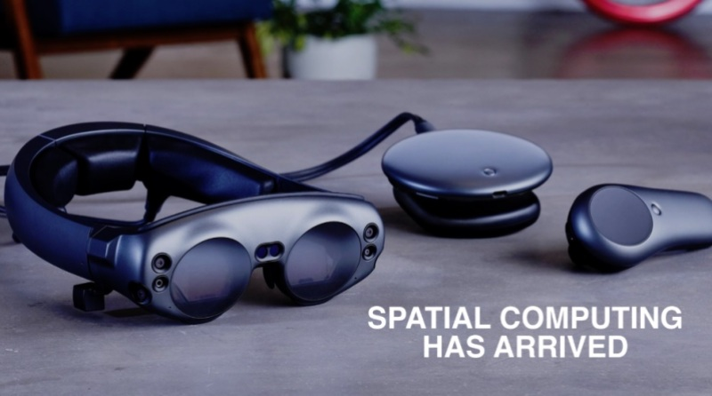 "Magic Leap One will make possible ""spatial computing."""