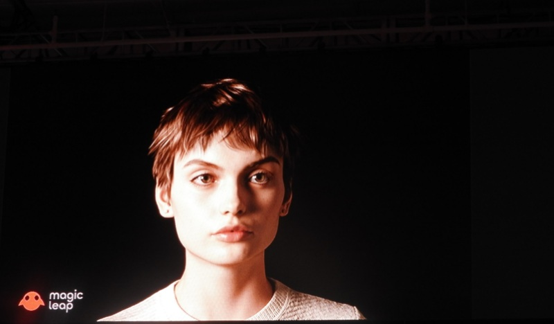 Mica is a digital human created by Magic Leap.