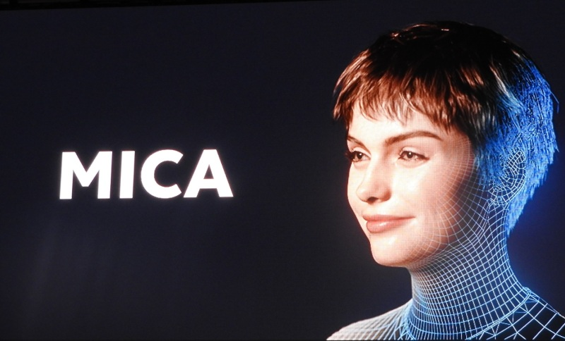 Mica is a digital human demo for the Magic Leap One.