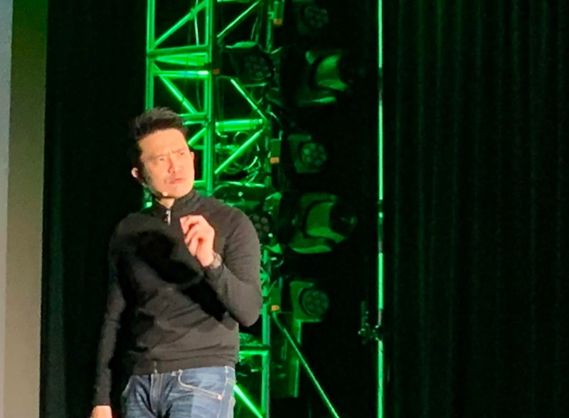 Min-Liang Tan, CEO of Razer, introduces the Razer Phone 2.