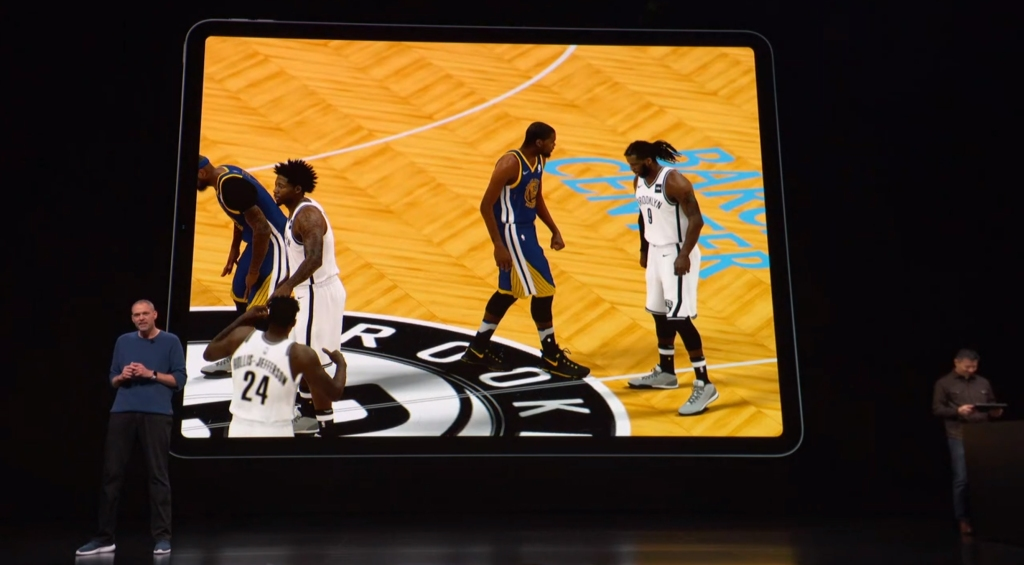 NBA 2K for iPad.