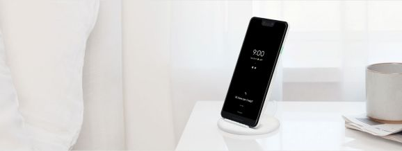 Pixel 3 on Pixel Stand