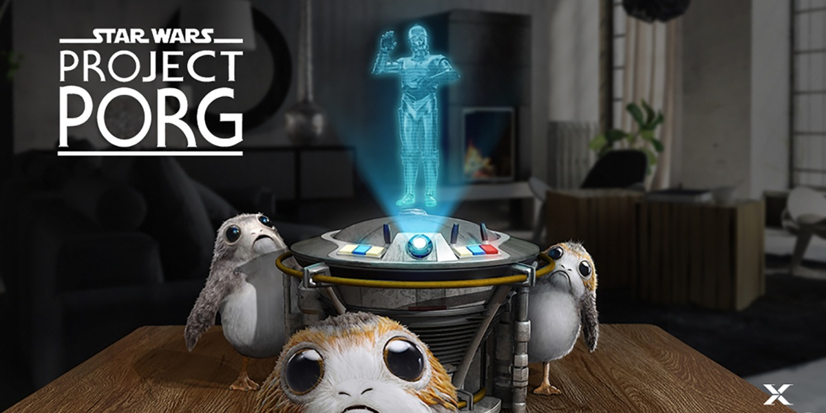 Star Wars Project Porg comes to Magic Leap One.
