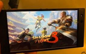 Shadow Fight 3 on Razer Phone 2.