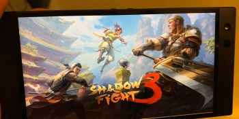 Shadow Fight 3 on Razer Phone 2.