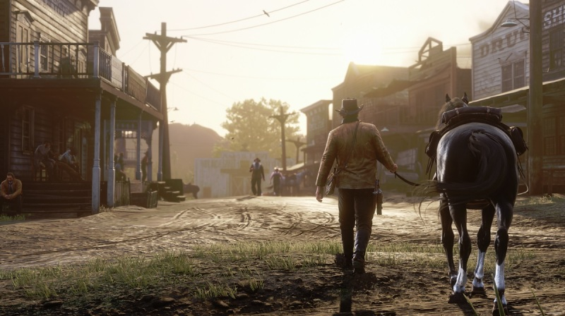 With scenes so pretty, no one wants to see a user interface in Red Dead Redemption 2.