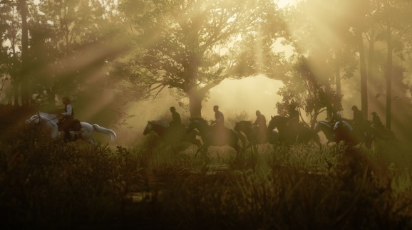 The environs of Red Dead Redemption 2.