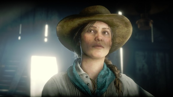 Sadie Adler has to beg to go out on missions.