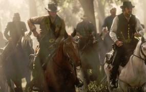 Red Dead Redemption 2 stars Arthur Morgan (left) and gang leader Dutch Van Der Linde.