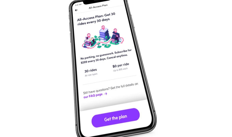 Lyft: All-access plan