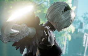 2B in Soulcalibur VI.