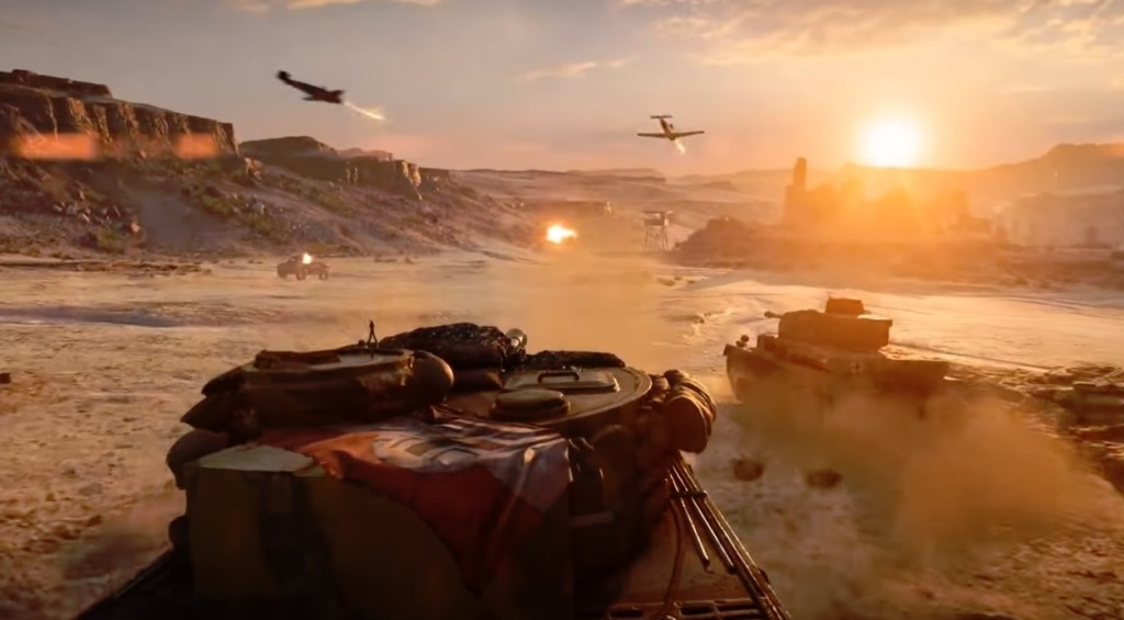 The Last Tiger in Battlefield V.