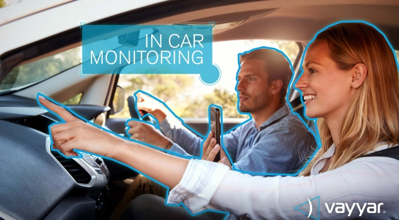 Vayyar can monitor activity inside a car.