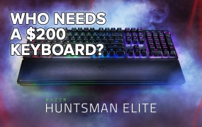 Razer Huntsman Elite.