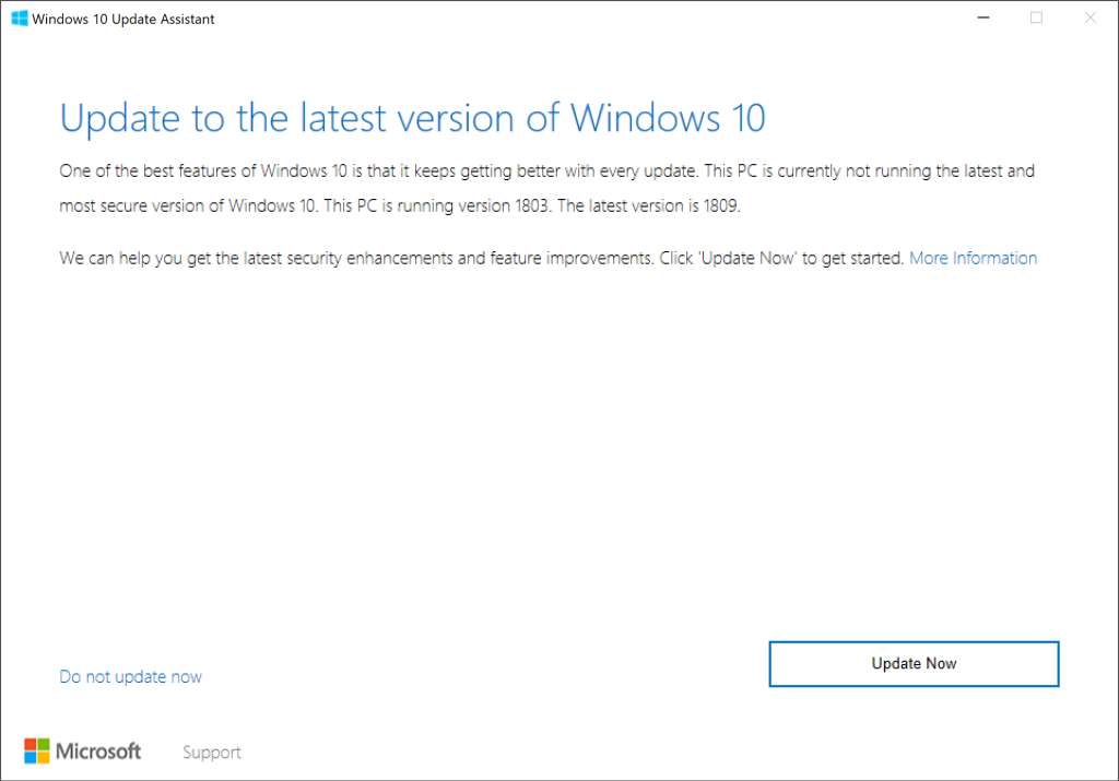 How to manually download the Windows 10 October 2018 Update