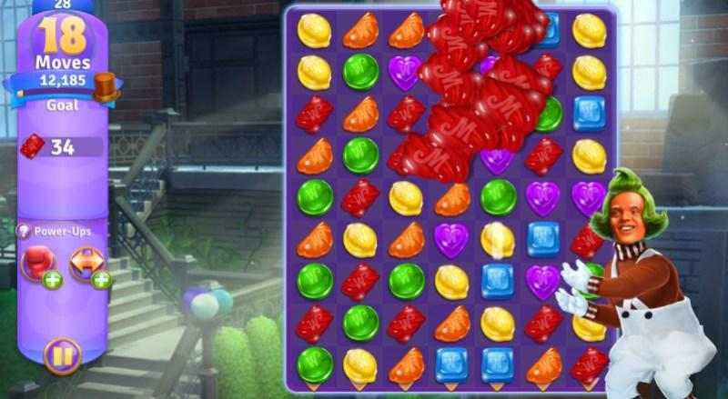 Oompa Loompa in Wonka's World of Candy.