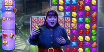 Zynga launches Wonka's World of Candy match-3 mobile game
