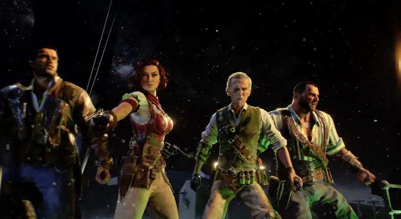 How Call of Duty: Black Ops 4's Zombies mode is social, deep
