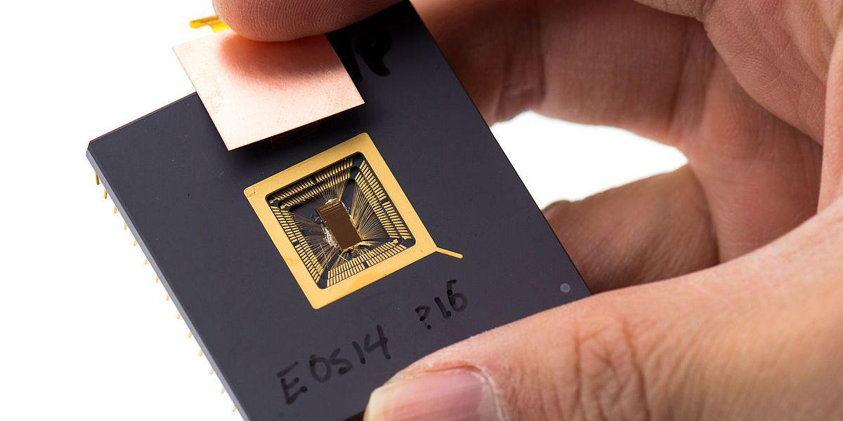 A RISC-V processor prototype.