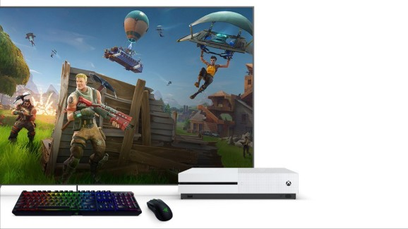 Keyboard and mouse for Xbox One.