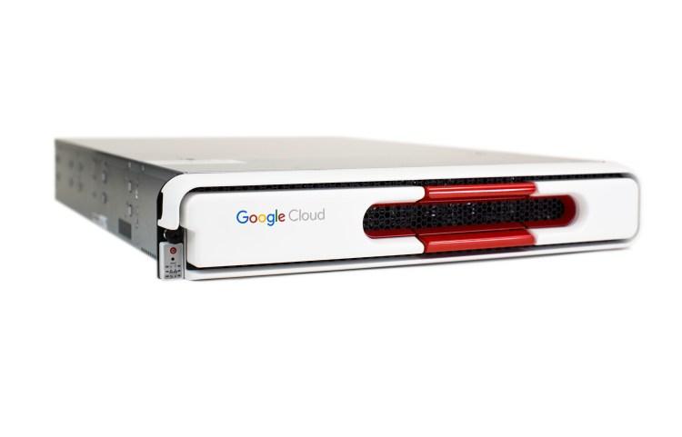 Google Cloud Platform's Transfer Appliance