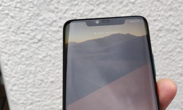 Huawei Mate 20 Pro: The notch