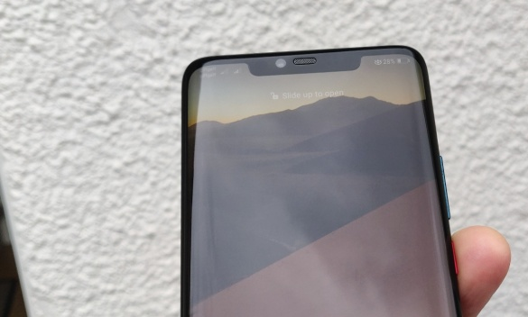 Huawei Mate 20 Pro: The notch