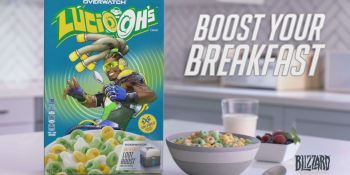 Overwatch cereal Lucio-oh's is coming from Kellogg's