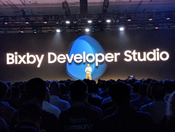 Bixby Developer Studio unveil at Samsung Developer Conference