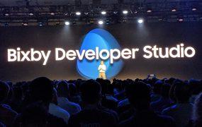 Bixby Developer Studio unveil at Samsung Developer Conference