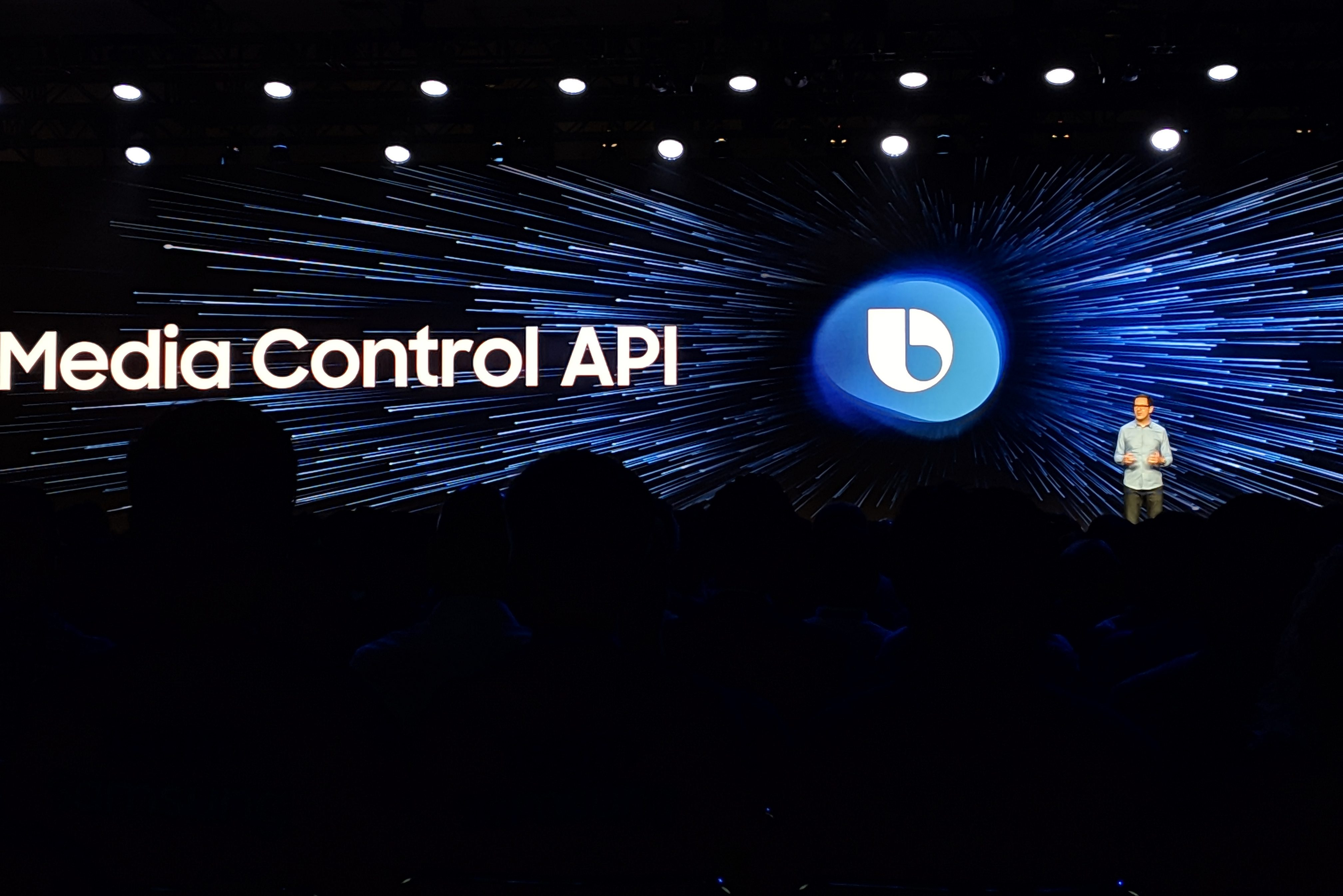 Samsung announces Media Control API for Bixby-enabled smart