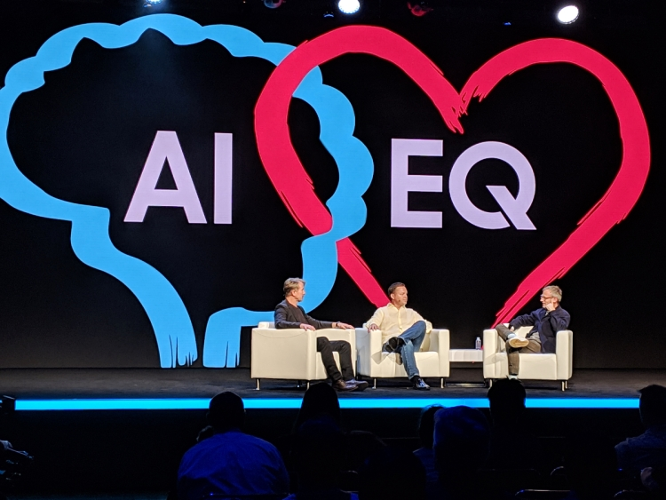 "Viv Labs CEO Dag Kittlaus and ""Her"" director Spike Jones speak with Samsung"