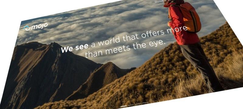 Mojo Vision: Homepage