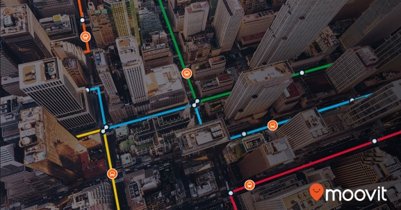 Moovit partners with Bing.