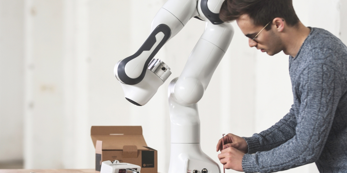 Franka Emika's Panda robot arm.