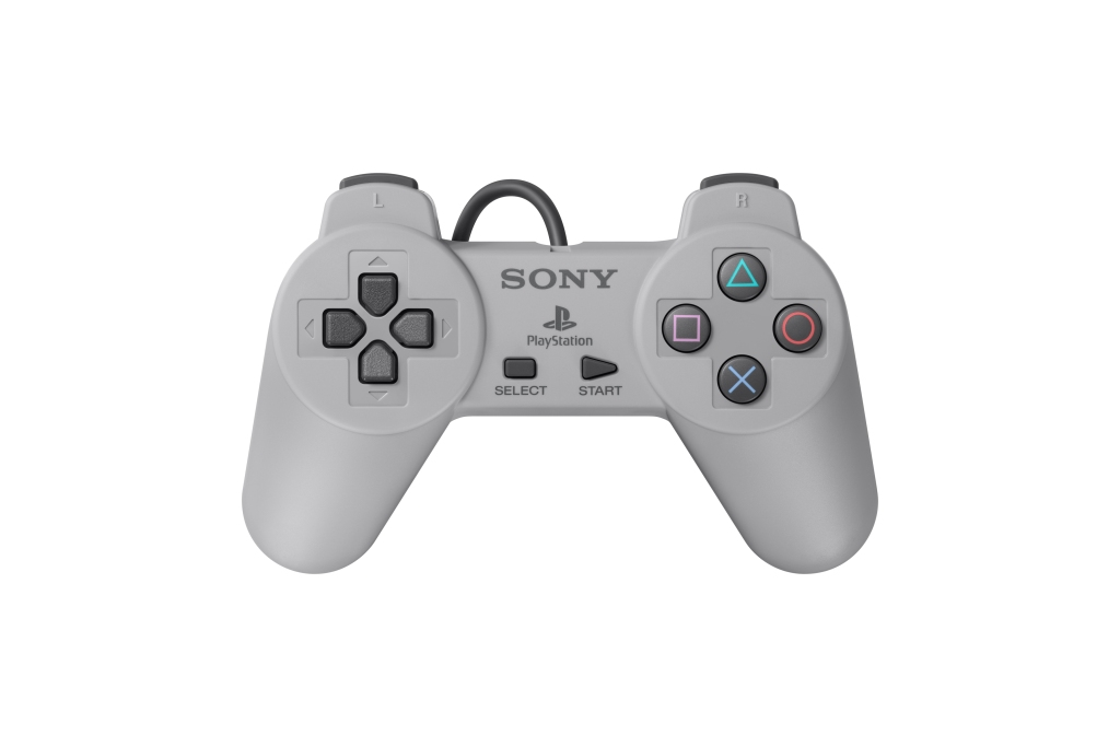 The PlayStation Classic controller.