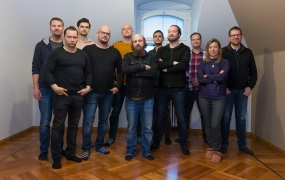 The team at Finland's Red Hill Games.