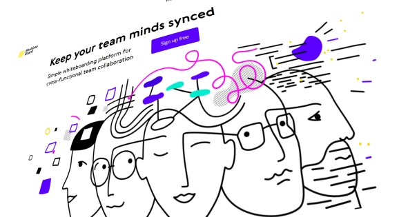 RealTimeBoard homepage